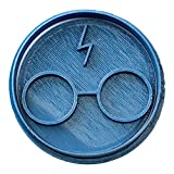 Cuticuter Harry Potter Cortador de Galletas, Azul, 8x7x1.5 cm