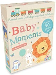 Baby Moments: Record cards for Baby's important milesto