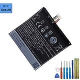 Batteria di ricambio B2PQ9100 compatibile con HTC One A9 A9u A9w Hima Aero con strumenti
