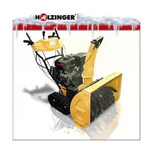 Holzinger Benzin Schneefräse HSF-110(LE) mit E-Start, Licht und Raupenantrieb