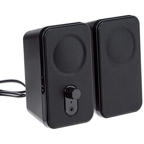 AmazonBasics - Computer-Lautsprecher für Schreibtisch oder Laptop | AC-Betrieb (EU-Version)