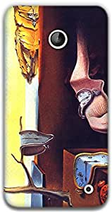 The Racoon Lean Persistence of a Memory - Dali hard plastic printed back case / cover for Nokia Lumia 630
