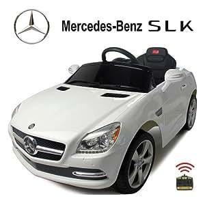 original mercedes benz slk licence voiture v hicule lectrique pour enfant avec t l commande. Black Bedroom Furniture Sets. Home Design Ideas