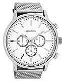 Oozoo Herren-Armbanduhr Weiß 48 mm C8260