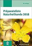 Präparateliste Naturheilkunde 2018 -