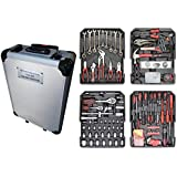 Complete kit tools, 187 pieces of four shelves