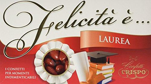 Crispo confetti avola - colore rosso - 3 confezioni da 1 kg [3kg]