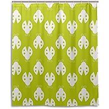 Rideau de douche de bain 152,4x 182,9cm, mignon Beatle, à la moisissure Polyester Rideau de salle de bain en tissu