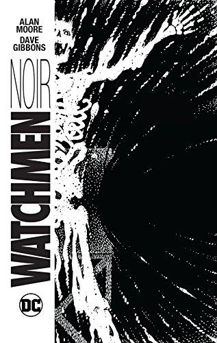 Watchmen Noir HC por Alan Moore