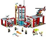 LEGO City 60110 - Große Feuerwehrstation, Kinderspielzeug, Bauspielzeug für LEGO City 60110 - Große Feuerwehrstation, Kinderspielzeug, Bauspielzeug