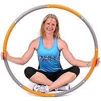 ResultSport Level 2 Foam Padded 1.5 Kg Weighted - Barril de Pilates, Color Naranja