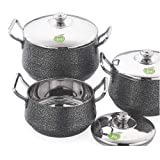 Best Cooking Pot Sets - JVL Elite Pot Powder Coated Stainless Steel Cooking Review