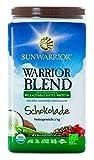 Sunwarrior Warrior Blend Schokolade, neue Formel, Bio-Qualität, 1er Pack (1 x 1 kg)