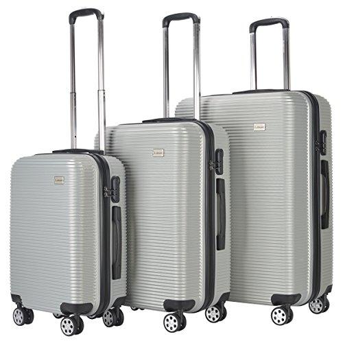 Set de 3 Valises Lot de 3 Valises Bagages pour Voyage...