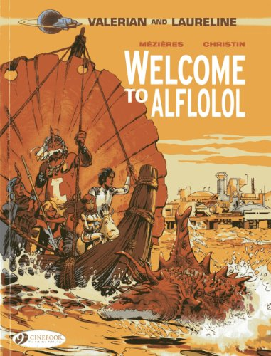 Valérian and Laureline - tome 4 Welcome to Aflolol (04)