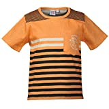 Beanie Bugs Printed Peach casual T-Shirt for Older Boys (8-10 Years)