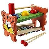 babyGreenBaby Kinder Spielzeug Holz Schlaginstrument, hölzerne pädagogische Entwicklung Musik Spielzeug