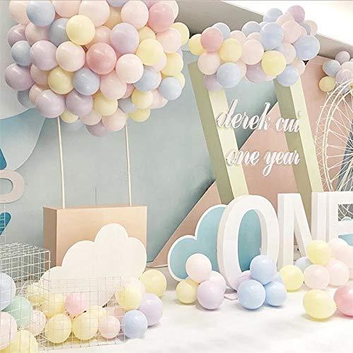 50 stücke 10 inch Macaron farbe Latex Ballons Baby blau Rosa Geburtstag Event Party Hochzeit Mint Grün Dekor Baby Dusche SPA22