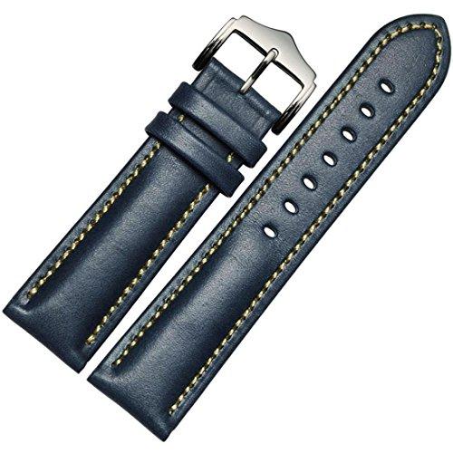 Pour Samsung Galaxy Gear S2 Classic SM-R732, Clode® Cuir véritable bracelet montre bracelet Pour Samsung Galaxy Gear S2 Classic SM-R732 (Bleu)