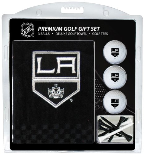 Team Golf NHL Los Angeles Kings Besticktes Handtuch Geschenk-Set