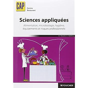 Sciences appliquées CAP