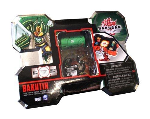 Bakugan Gundalian Invaders Bakutin Collectible Storage Case - Green