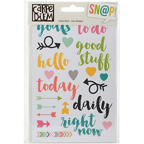 Cheap Simple Stories Carpe Diem Icon Stickers Online