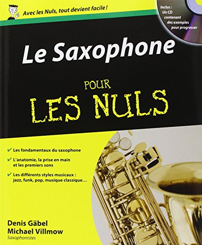 Le Saxophone pour les Nuls par Denis GABEL