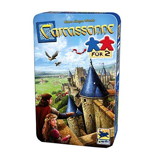 Carcassonne, Für 2 - Bring-Mich-Mit-Spiel in Metalldose