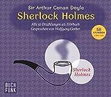 Sherlock Holmes - Sämtliche Erzählungen: Drei mp3-CDs - Spieldauer: 58 Stunden