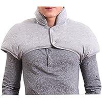 Hals- und Schulterwärmer für Männer mit abnehmbarem Halsband Natürliche Wärmetherapie - Grau preisvergleich bei billige-tabletten.eu