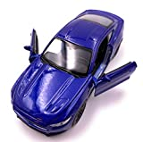 H-Customs Welly Ford Mustang GT 2015 Modellauto Auto Lizenzprodukt 1:34-1:39 Blau