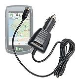 Duragadget Chargeur Mini USB Allume-Cigare Voiture pour Teasi One | One2 | One3 | Pro | Pro Pulse | Volt GPS de Randonnée Pédestre ou Cycliste, par