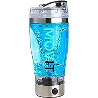 Movit Shaker Electrico USB - vaso mezclador proteinas coctelera eléctrica, agitador batidos de proteina vortex mixer recargable - Mix botellas Gimnasio automático profesional