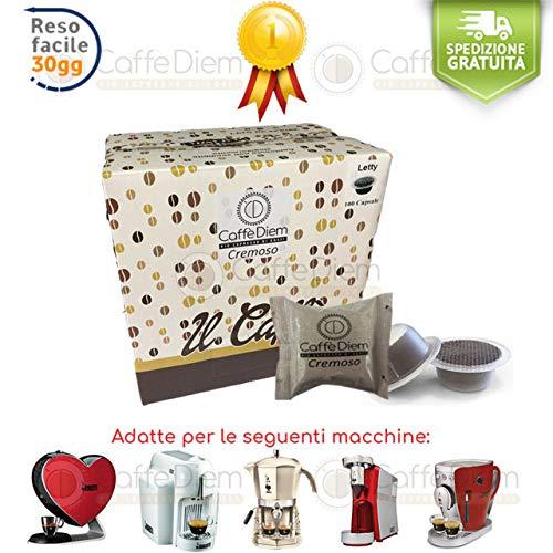 Caffè Diem Capsule Cialde Compatibili Bialetti * Miscela Cremoso Napoli- 200 Capsule