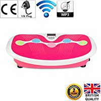 GLOBAL RELAX U.K. - ZEN SHAPER PLUS (Pink) Vibration plate/body shaping table (new model 2018) - 2 Years Offical Warranty