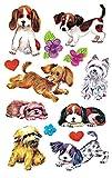 AVERY Zweckform 4340 Aufkleber für Kinder (Hunde, Papiermaterial) 3 Bögen, 26 Sticker
