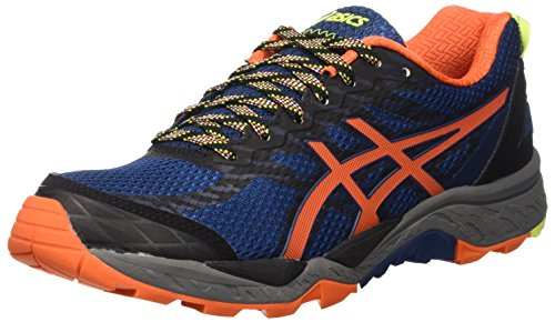 asics-gel-fujitrabuco-5-chaussures-de-trail-homme-bleu-poseidon-flame-orange-safety-yellow-44-eu