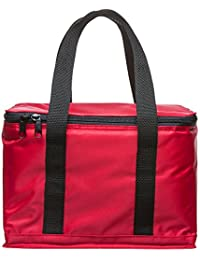 Sagaform Bolsa de tela y de playa, Red (rojo) - 5017437