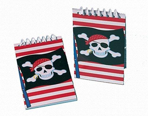 Block Notes Festa Pirati 11x5,5cm 12pz