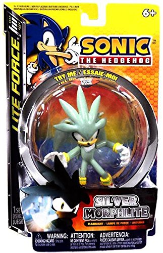 Sonic The Hedgehog Morphlite Silver by Sonic The Hedgehog Figures