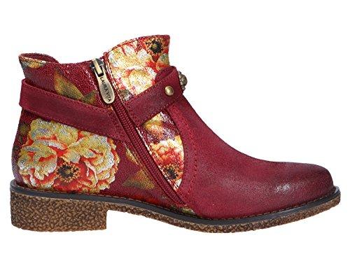 Laura Vita Damen Coralie 04 Chelsea Boots Rot (Wine)