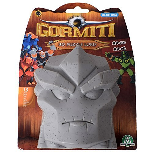 Gormiti 3D Puzzle Lord 13-teilige Snap-Together Figure Toy 9 cm Cartoon 2 Grau