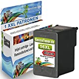 1x Tintenpatrone schwarz HP 56 XL für Deskjet 5150 5550,Officejet 4215,PSC 1210