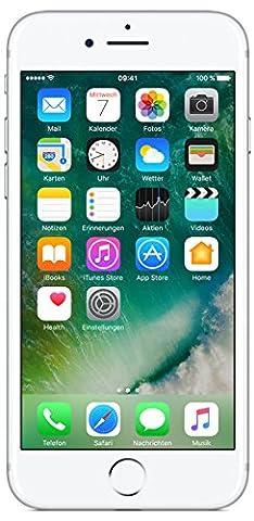 Apple iPhone 7 Smartphone (11,9 cm (4,7 Zoll), 32GB interner Speicher, iOS 10) silber