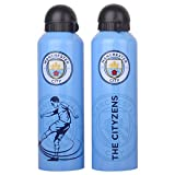 #9: Manchester City F.C. Stainless Steel Drinks Bottle BLU TC
