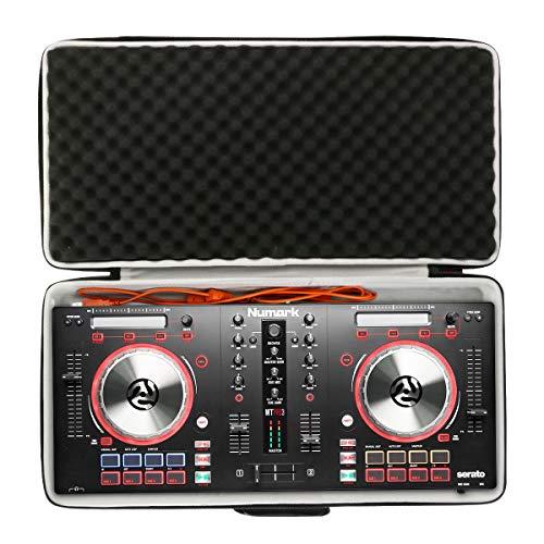 Khanka Eva Custodia rigida da viaggio per Numark Mixtrack 3 Controller per DJ a 2 Deck per Serato DJ