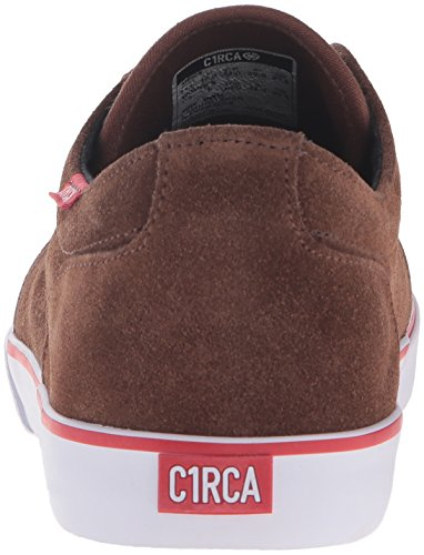 C1RCA - Drifter, Scarpe da ginnastica Unisex – Adulto Marrone (Braun (Brown White))