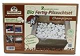 Pilzmännchen Bio Fertig-Pilzzuchtset Champignon klein