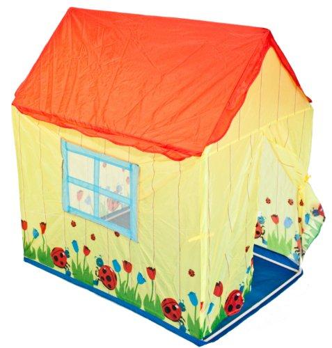 Traditional Garden Games Ladybird House Play Tent